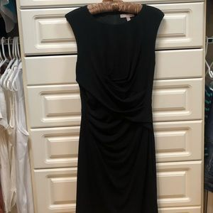 Banana Republic, Black, sleeveless fitted dress